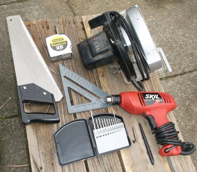 sawbuck tools