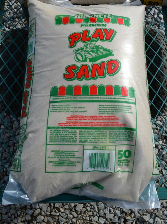 Why play sand is not good for rooting cuttings.