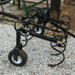 Side view of the Field Tuff ATV Cultivator.