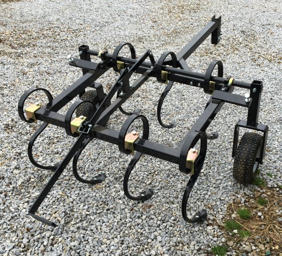 Field Tuff ATV Field Cultivator, rear view.